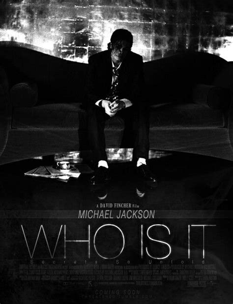 What did Michael Jackson mean by Who is it? - Quora