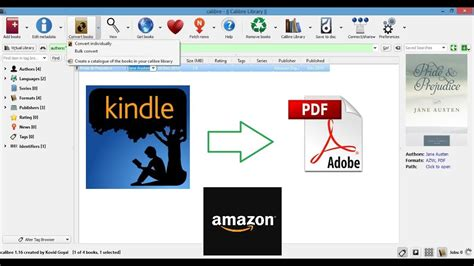 How to convert Kindle books to PDF [100% Free] - YouTube