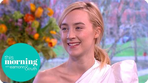 Saoirse Ronan Reveals How Her Name is Actually Pronounced