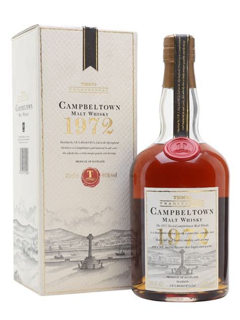 Campbeltown 1972 - Bottle for Tesco Scotch Whisky : The
